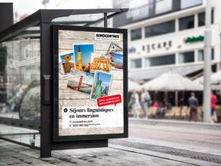 Werbekampagne Sprachaufenthalt