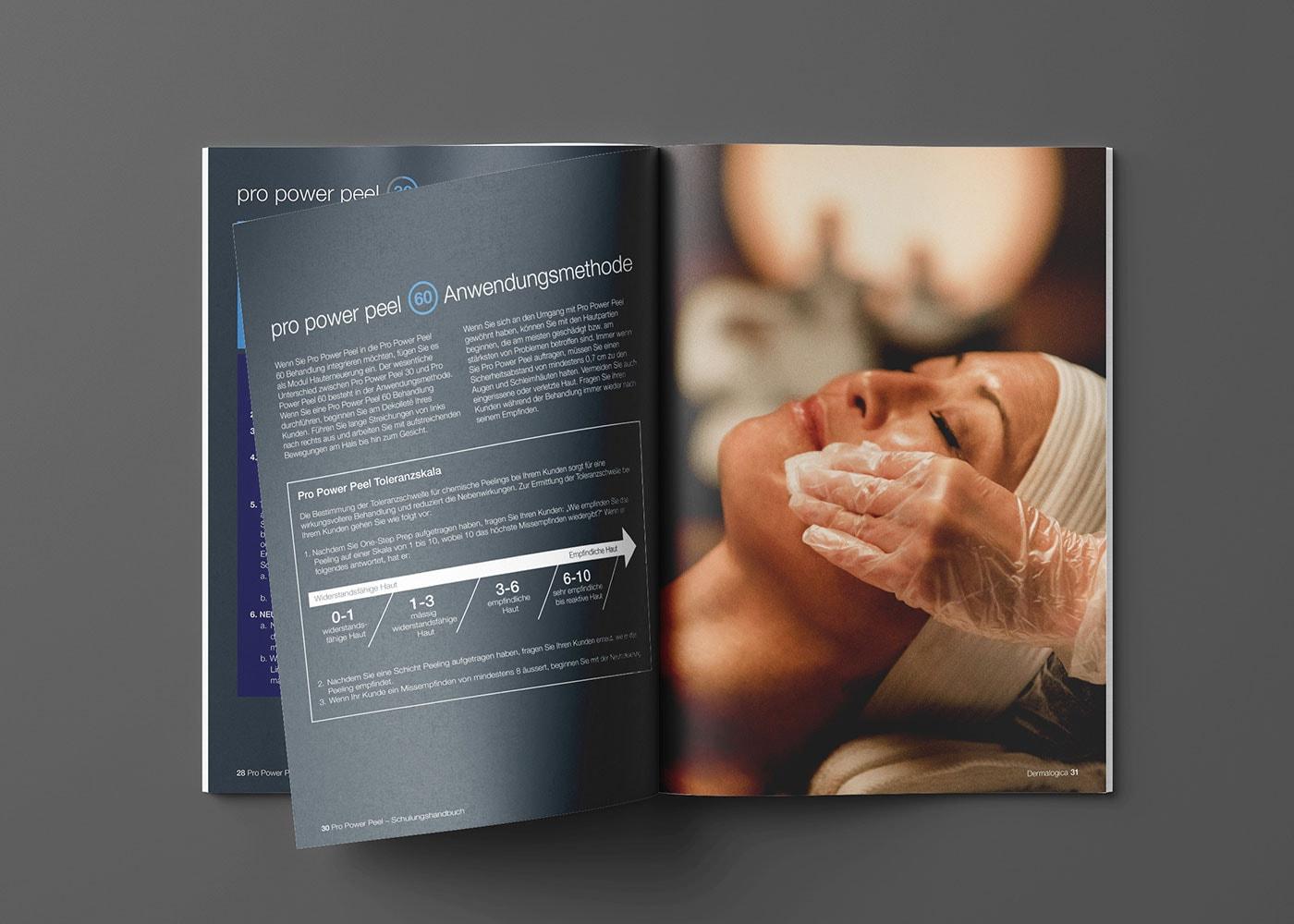 Broschure Pro Power Peel