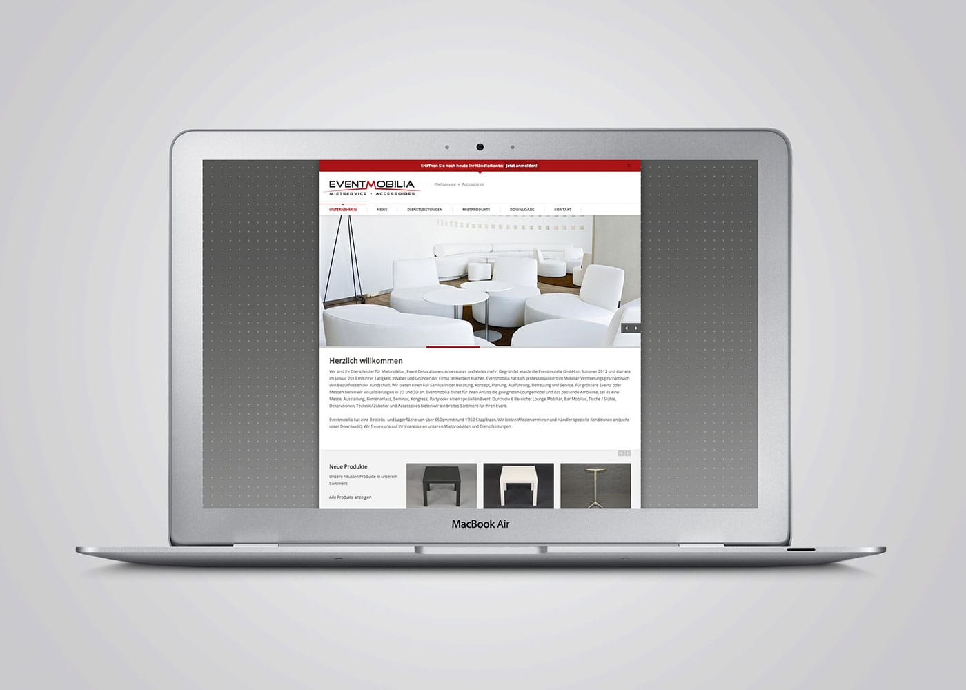 Web Eventmobilia