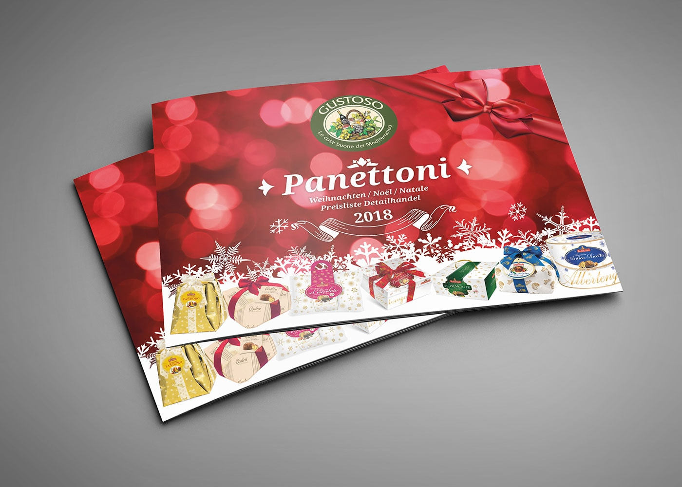 Produktkatalog Panettone