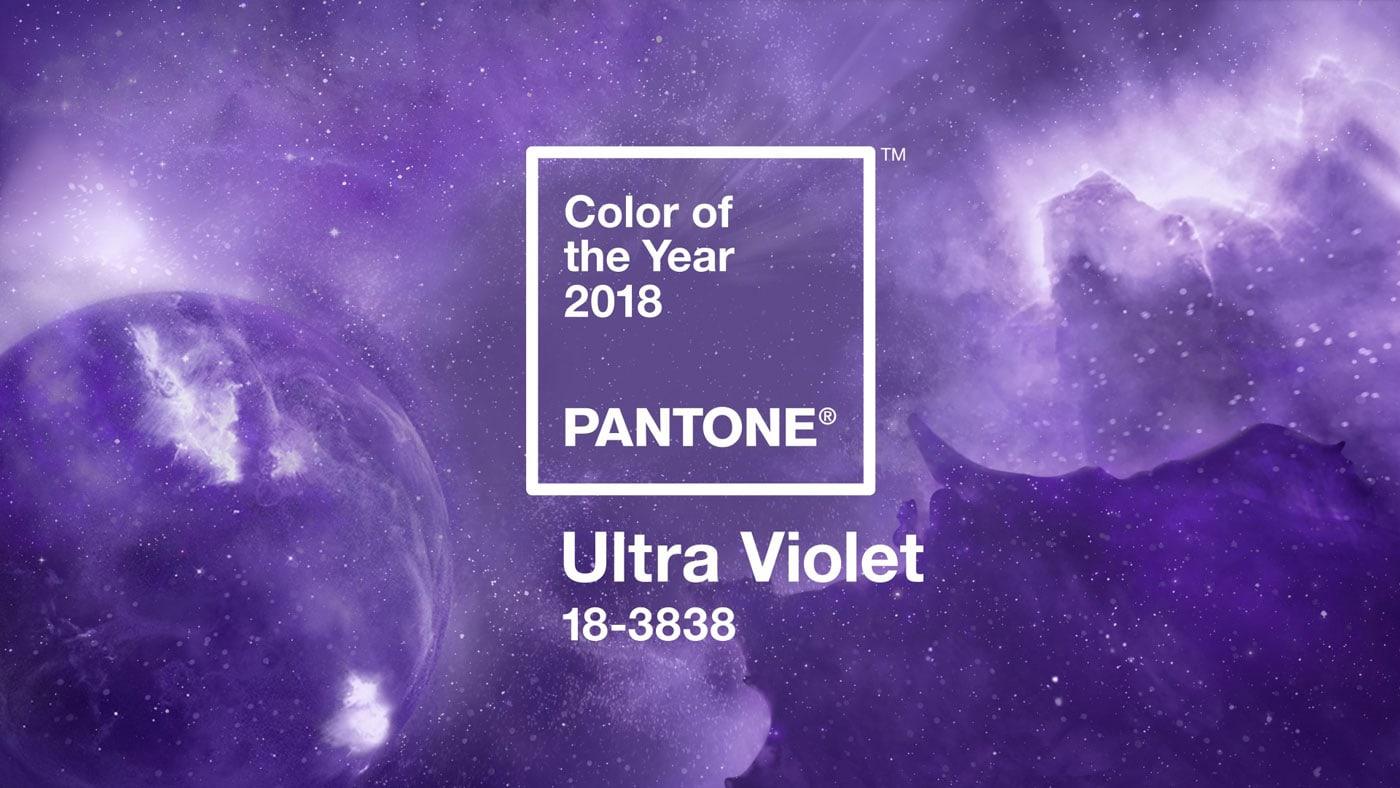 Ultra Violet – PANTONE Farbe des Jahres 2018