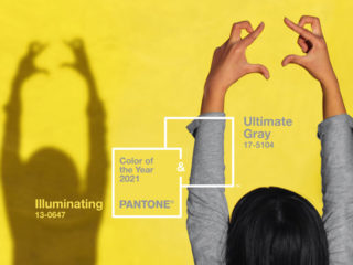 Die Pantonefarbe des Jahres 2021: Ultimate Gray & Illuminating