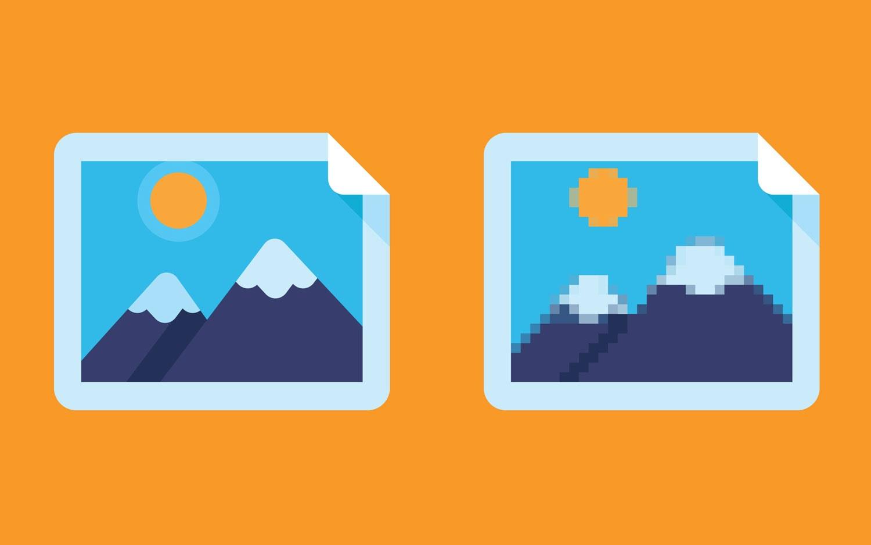 Der Unterschied zwischen Pixel und Vektor