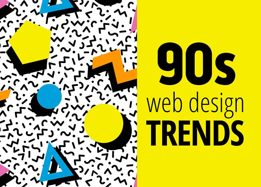 8 beliebte Webdesigns aus den 90ern, die es heute so nicht mehr gibt