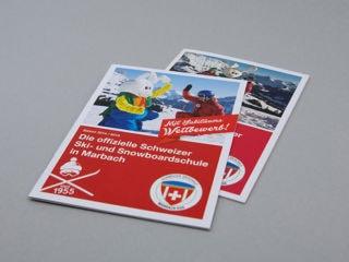 Drucksachen Schweizer Skischule