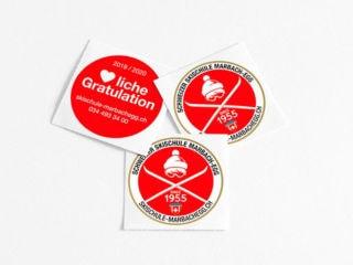 Sticker Schweizer Skischule