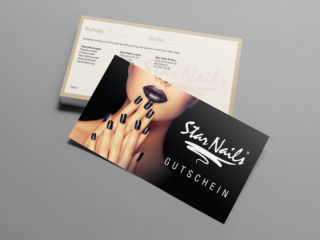 Gutschein Star Nails