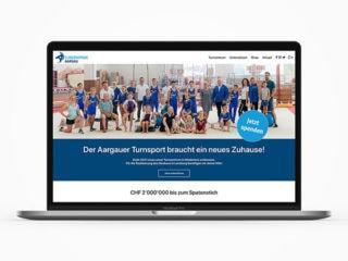 Web Turnzentrum Aargau