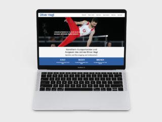 Webseite Oliver Hegi