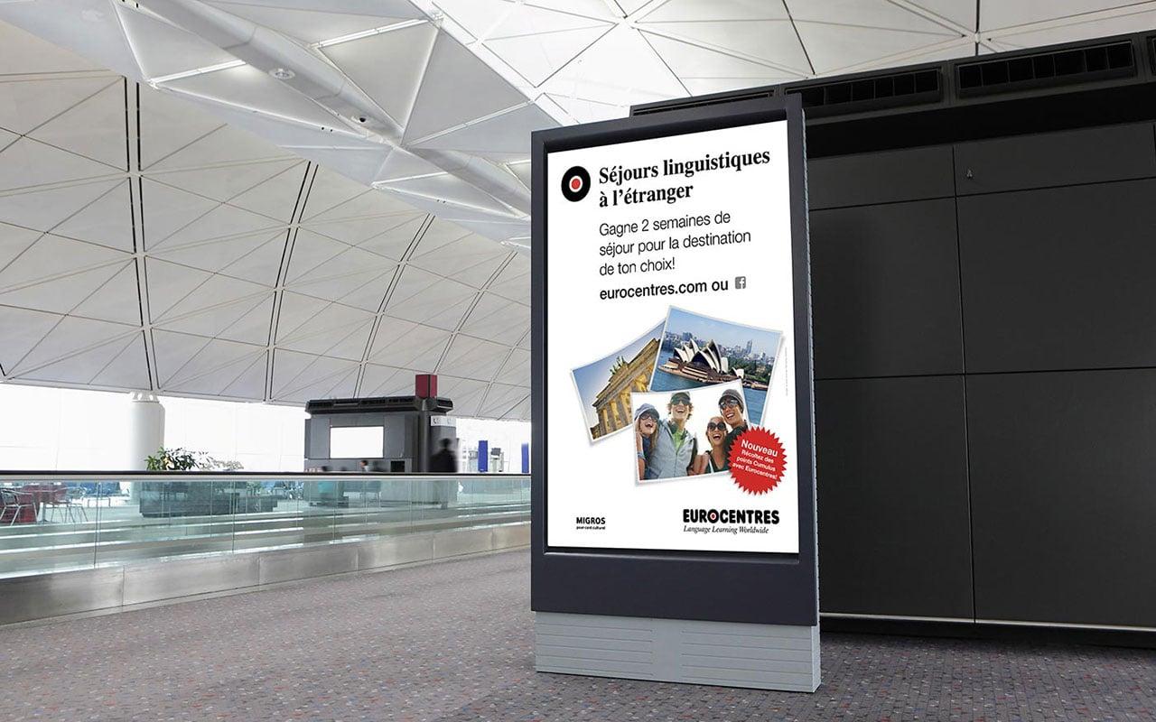 Plakatkampagne Eurocentres